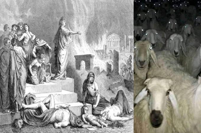 लोक 'तांत्रिक' भारत ने जलते रोम में बांसुरी बजाते नीरो को पीछे छोड़ा
