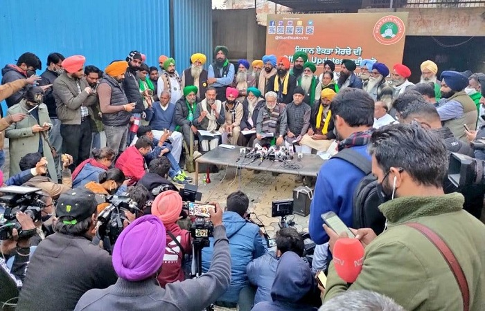 Surjit Singh Phool on Farmers' protest: Samyukta Kisan Morcha is likely to constitute a 9-member committee for meetings with Centre.